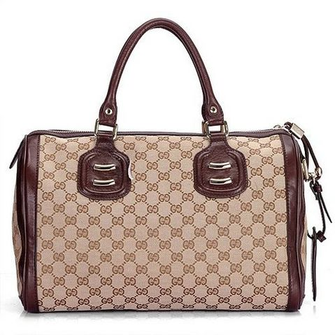 Gucci-speedy-canvas-cokelat